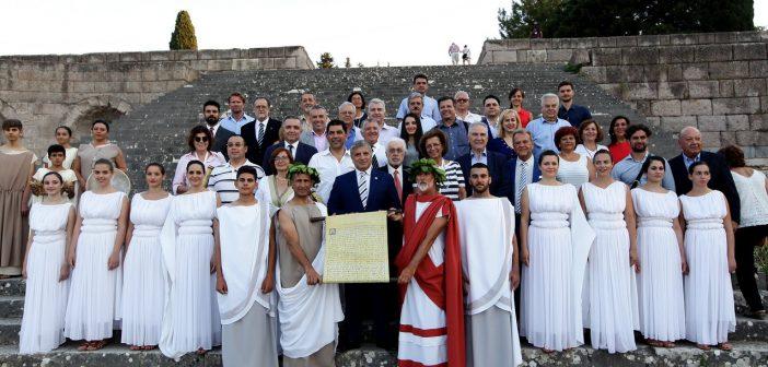 Ασκληπιείο Κω. 34 γιατροί από όλο τον κόσμο πήραν μέρος στην αναπαράσταση του Όρκου του Ιπποκράτη
