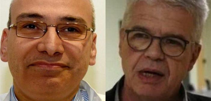 Οι καθηγητές Γιαμαρέλλος και Γώγος ανακάλυψαν δείκτη αίματος που υποδηλώνει ποιος θα νοσήσει βαριά από Covid-19